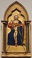 Jacopo di cione e bottega, cimasa dell'altare di san pier maggiore, 1370-71, 03 trinità.jpg