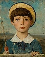 Portrait de Jacques Bizet, enfant