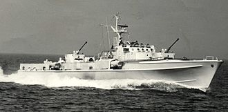 Jaguar-class fast attack craft - Image: Jaguar Dommel
