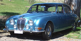 Jaguar S-Type (1963) - Jaguar 3.4S in factory opalescent silver blue