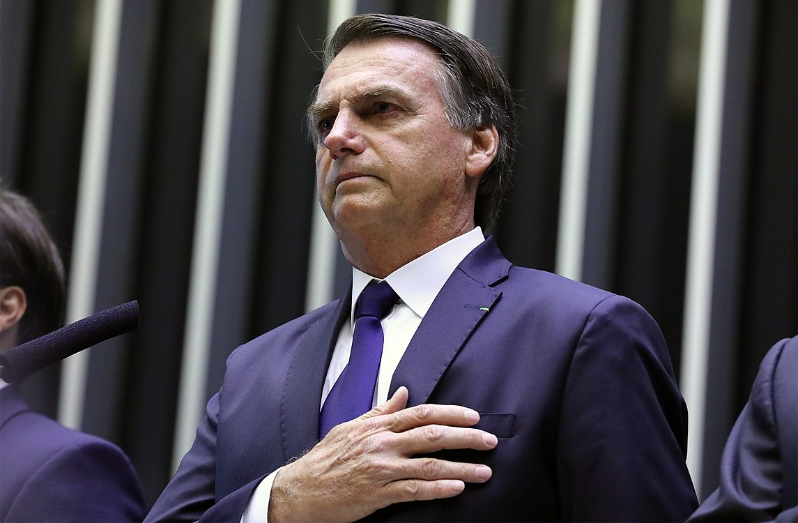 Jair Messias Bolsonaro toma posse como presidente.jpg