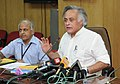 "Jairam Ramesh addressing after releasing a book ""A State-of-the Art report on Bioremediation, its applications to contaminated sites in India"", in New Delhi on May 12, 2011.jpg"