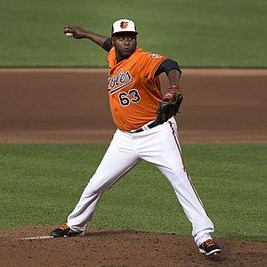 Jairo Asencio - Asencio with the Baltimore Orioles
