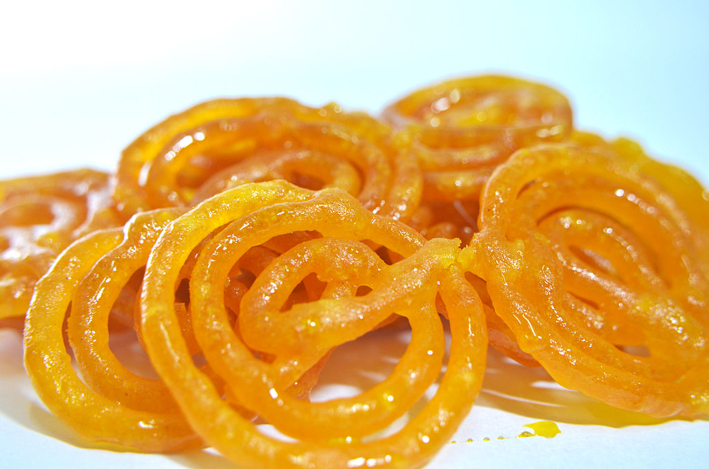 Jalebi - Closeup View of Jalebis