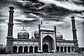 Jama Masjid in Monochrome.jpg
