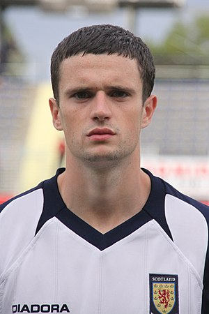 Jamie Murphy (footballer, born 1989) - Murphy representing Scotland U21 in 2009