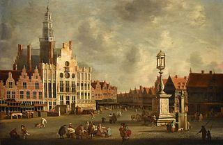 The market in Den Bosch