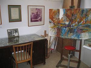 Ein Hod - Marcel Janco studio at Ein Hod artist village