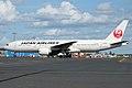 Japan Airlines, JA706J, Boeing 777-246 ER (16430643946).jpg