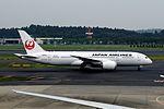 Japan Airlines Boeing 787-8 (JA826J-34836-37) (19944199854).jpg