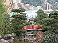 Japanese garden Monaco (red bridge).jpg