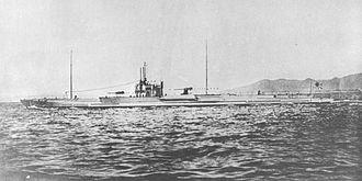Junsen type submarine - I-5 in 1932