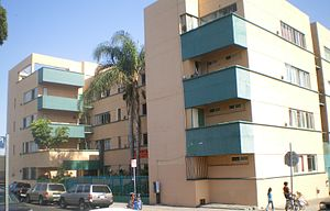 Richard Neutra - Image: Jardinette Apartments (Richard Neutra), Hollywood