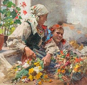 Zdzisław Jasiński - The Florists.