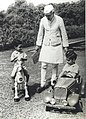 Jawaharlal Nehru with Rajiv and Sanjay Gandhi at Teen Murti House.jpg