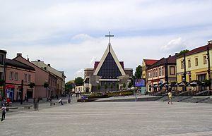 Jaworzno - Main Square in Jaworzno