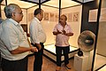 Jayanta Sengupta Visits With Shrikant Pathak And Manash Bagchi - Objects In CRTL Archive Exhibition - NCSM - Kolkata 2018-05-18 0742.JPG