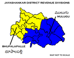 Jayashankar District Revenue divisions.png