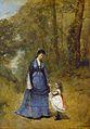 Jean-Baptiste Camille Corot - Madame Stumpf et sa fille.jpg