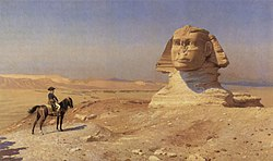 Jean-Léon Gérôme: Bonaparte Before the Sphinx