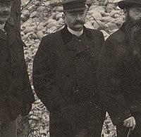 Jens Jensen Befaring ved Øvre Leirfoss Kraftverk (1901) (8056686255) (1).jpg