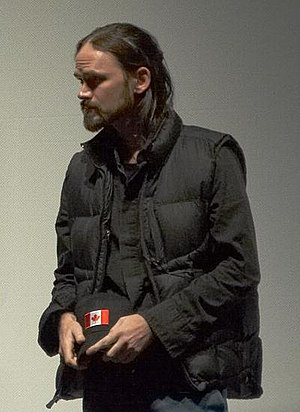 Jeremy Davies - Davies answering questions at the Toronto premiere of Rescue Dawn in September 2006.
