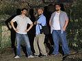 Jerusalem Three Amigos in Zedekhia's cave! (6036423992).jpg