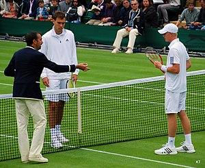Jerzy Janowicz - Jerzy Janowicz at the 2013 Wimbledon Championships.