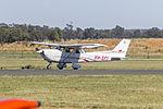 Jetfast Aviation (VH-SFI) Cessna R172K Hawk XP taxiing at Temora Airport.jpg