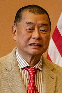 Jimmy Lai Hong Kong businessman