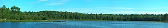 Samuel de Champlain Provincial Park - Image: Jingwakoki Babawasse Bridge