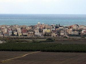 Jisr az-Zarqa - View of Jisr az-Zarqa