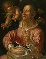Joachim Antonisz Wtewael - Saint Matthew - Walters 372617.jpg