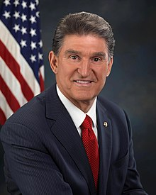 Portrait officiel de Joe Manchin.