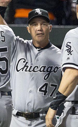 Joe McEwing - McEwing as a coach for the Chicago White Sox in 2016