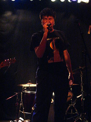 Johan Johansson (musician) - Johan Johansson sings with Monark X