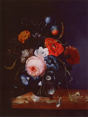 Johann Adalbert Angermayer: Flower Bouquet in ...