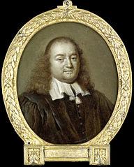 Portrait of Joannes Fredericus Gronovius, Philologist and Jurist, Professor in Leiden