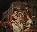 Johannes Voorhout (I) - De schilder en zijn familie - 1931 (OK) - Museum Boijmans Van Beuningen.jpg