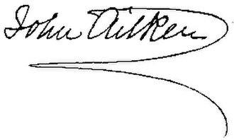 John Aitken (meteorologist) - Image: John Aitken signature