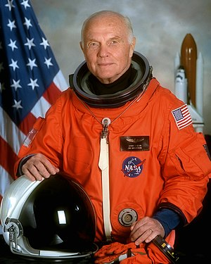 John Herschel Glenn Jr. (born July 18, 1921, i...
