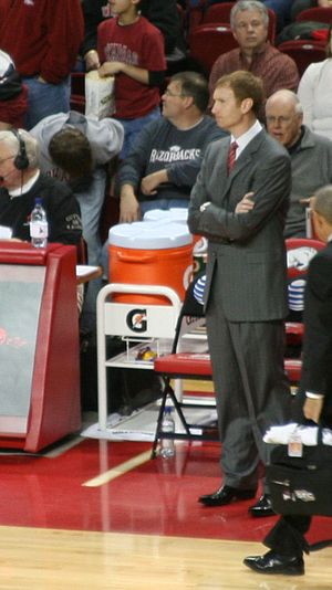 John Pelphrey - Pelphrey during the 2009 Arkansas–Georgia game.