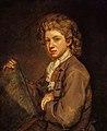 John Baptist de Medina (1659-1710) - Portrait of a Young Man (probably the Artist's Son, John Medina the Younger, d.1764) - NG 305 - National Galleries of Scotland.jpg