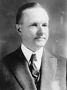 John Calvin Coolidge, Bain bw photo portrait.jpg