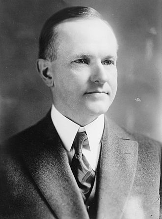 1924 United States presidential election in California - Image: John Calvin Coolidge, Bain bw photo portrait