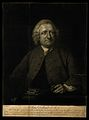 John Dollond. Mezzotint by J. R. Smith after B. Wilson. Wellcome V0001622.jpg