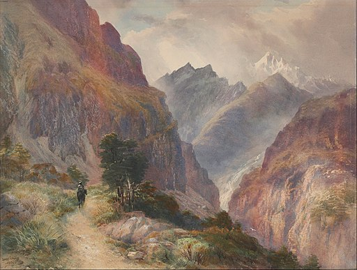 John Gully - In the Southern Alps - Google Art Project