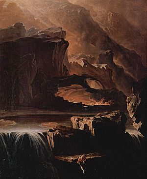 James Ridley - John Martin's painting Sadak in Search of the Waters of Oblivion illustrates an incident from James Ridley's Tales of the Genii.