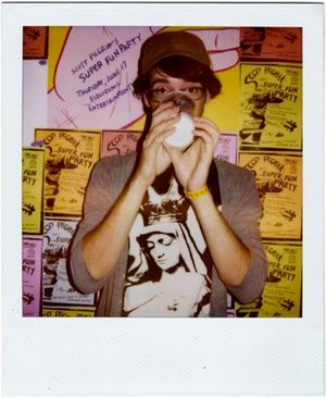 """Jon M. Gibson - At Universal's """"Scott Pilgrim's Super Fun Party,"""" produced by Gibson's i am 8-bit Productions."""