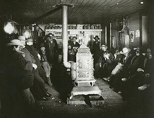 John Alvin Anderson - Charles Jordan's trading station, 1893